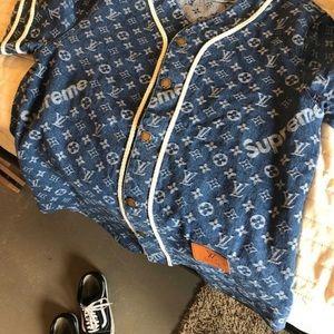 Louis Vuitton baseball jersey
